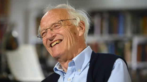 Bbc culture michael frayn discusses his varied for Farcical google translate