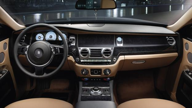 2013 Rolls-Royce Ghost Extended Wheelbase (Credit: Rolls-Royce)