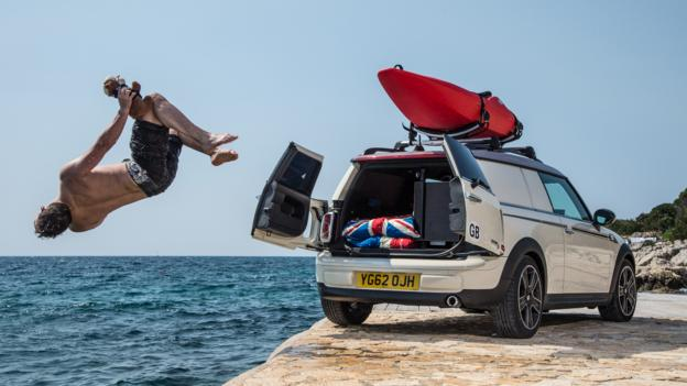 Mini Clubvan Camper (Credit: BMW Group)
