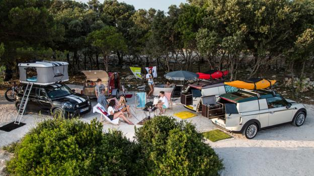 Mini camping concepts (Credit: BMW Group)