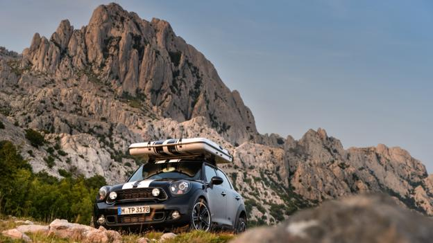 Mini Countryman All4 Camp (Credit: BMW Group)