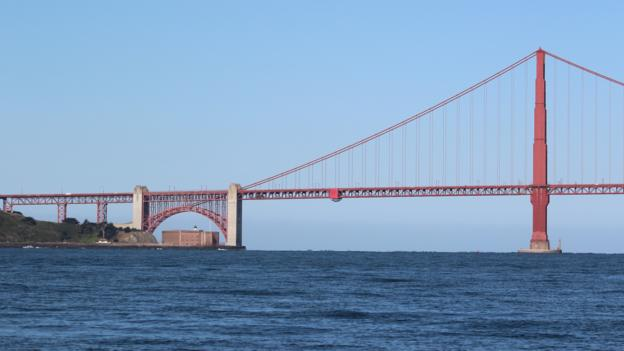 Past the Golden Gate Bridge (Credit: Katie Morell)