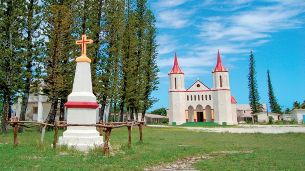 Fayaoué Catholic church, Ouvéa (Credit: © Destination Iles Loyaute Denis Callé)