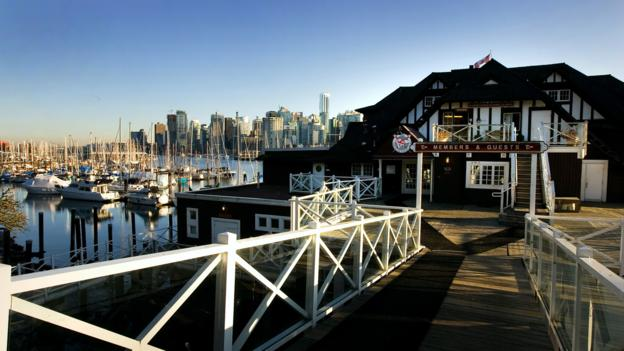 The historic Vancouver Rowing Club (Credit: Robert Giroux/Getty)
