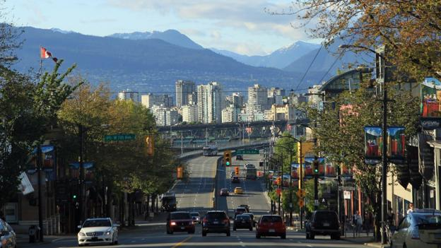 A view of Vancouver from Camrie Street (Credit: Bruce Bennett/Getty)
