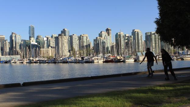 A view of Vancouver from Stanley Park (Credit: Bruce Bennett/Getty)