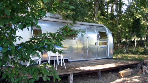 An Airstream trailer in Bordeaux (Credit: Canopy and Stars)