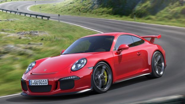 2014 Porsche 911 GT3 (Credit: Porsche Cars)