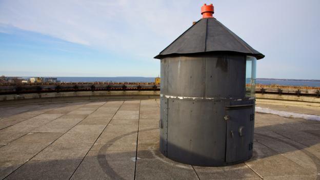 The roof of Fat Margaret (Credit: Paul Sullivan)