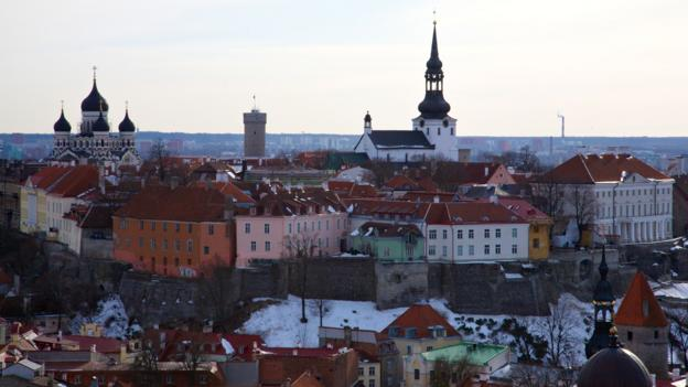 A view of the Upper City, the Dome Church and Nevesky Church (Credit: Paul Sullivan)