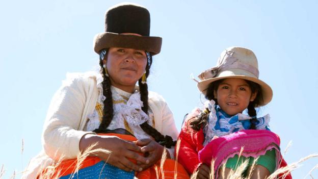 Traditional clothing (Credit: Todd Lawson/LPI/Getty)