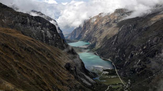 Laguna Orcococha and Laguna Llanganuco (Credit: Sandro Helmann/Getty)