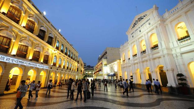 Macau's Senado Square (Credit: Dale de la Rey/AFP/Getty)
