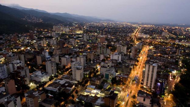 Northeast Cali, Colombia (Credit: Luis Robayo/AFP/Getty)