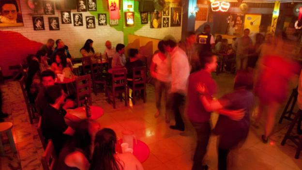 The self-proclaimed salsa capital of the world (Credit: Luis Robayo/AFP/Getty)