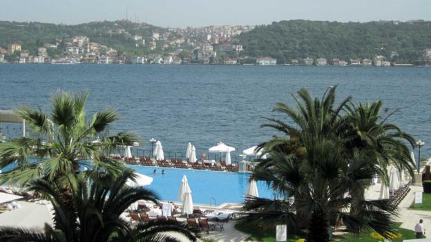 The Ciragan Palace Kempinski Istanbul (Credit: Ramsey Qubein)