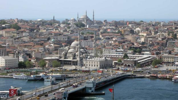 A view of Istanbul (Credit: Ramsey Qubein)