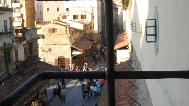 A view from the Vasari Corridor (Credit: Context Travel)