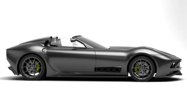 Lucra Cars' new roadster (Credit: Lucra Cars)
