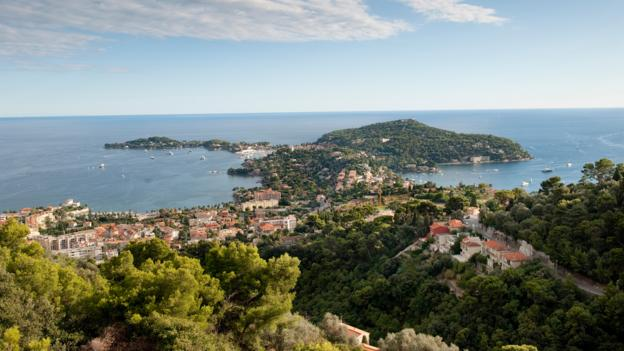 A view of Cap Ferrat from Plateau St Michel (Credit: Thomas Winz/Getty)