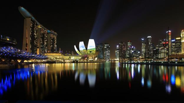Singapore's tax haven status contributes to the country's per capita GDP of $47,268. (Credit: Getty)