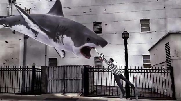 Jaws dropping (Credit: Syfy Channel)