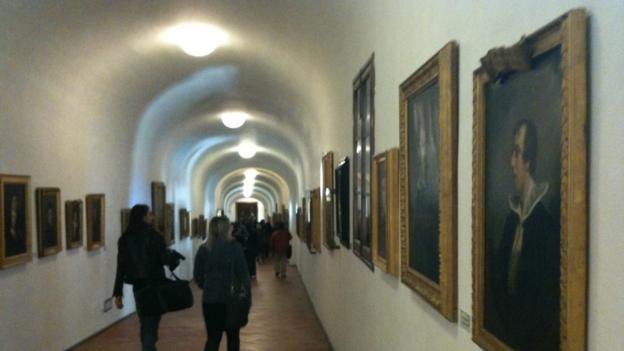 Inside the corridor (Credit: Uffizi.org)