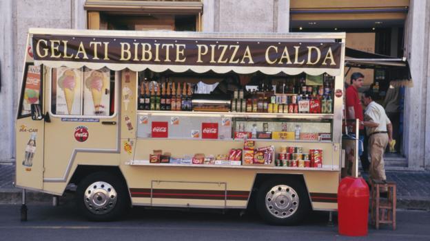 Roman street food (Credit: Travel Ink/Getty)