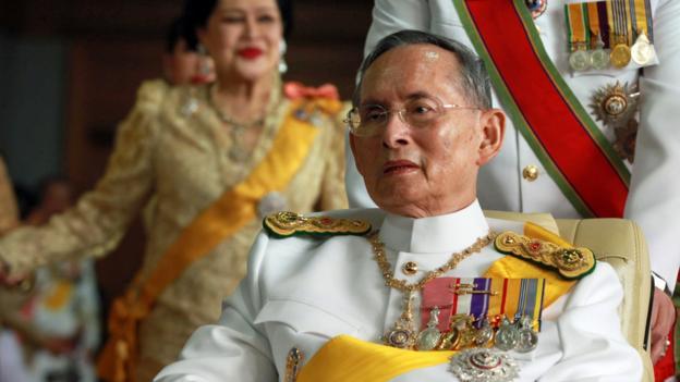 Thailand's reigning King Bhumibol Adulyadej (Credit: AFP/Getty)