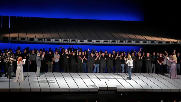 Upstaged (Credit: AP/Metropolitan Opera)