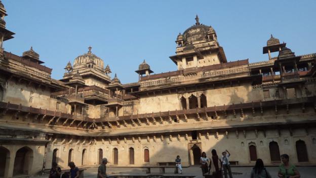 King's Palace courtyard (Credit: Sheema Mookherjee)