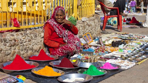 Pigments for sale (Credit: Getty Images)
