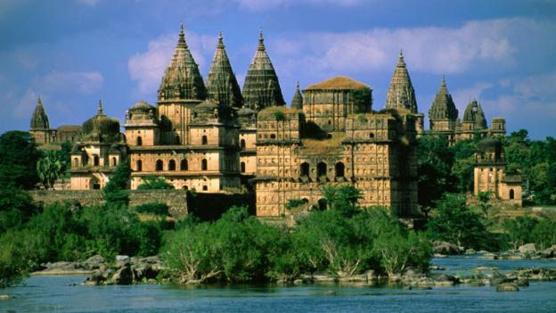 The city of Orchha (Credit: Mark Andrew Kirby/Getty)