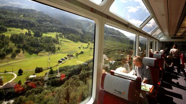 Switzerland's Glacier Express (Credit: Bruce Yuanyue Bi/Getty)