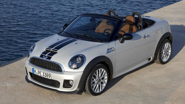 2013 Mini Cooper S Roadster (Credit: BMW Group)