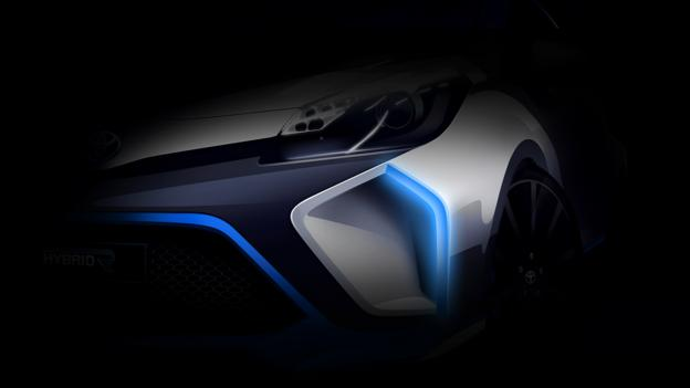 The automaker says the Hybrid-R will be based on a current production model. (Toyota)