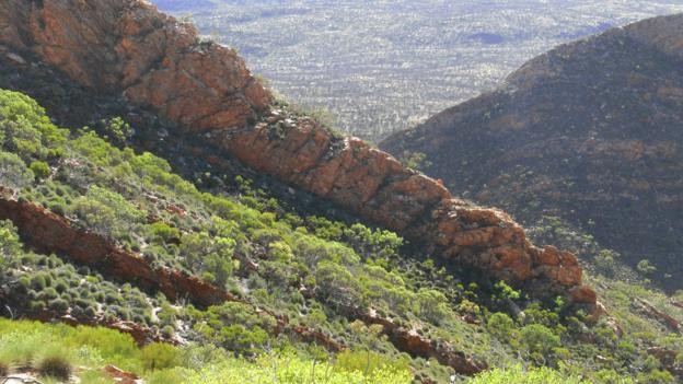 The MacDonnell Ranges (Credit: Gabi Mocatta)