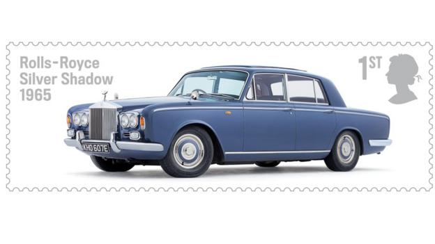 Royal Mail's British Auto Legends (Credit: Image: Royal Mail)