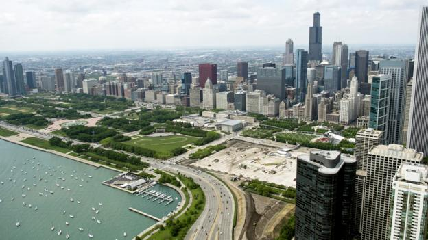 The Windy City (Credit: AFP/Getty)