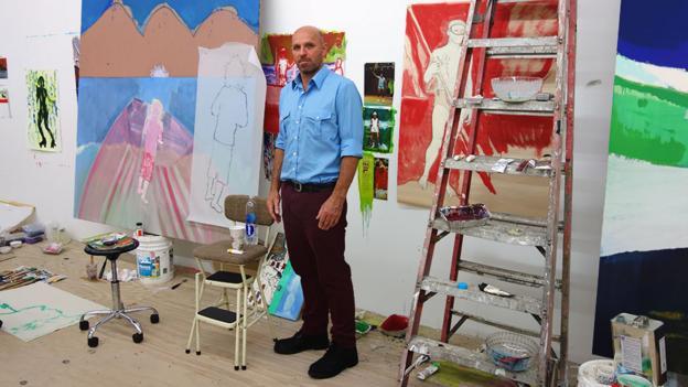 Portrait of the artist (Credit: Photo: Parinaz Mogadassi/Michael Werner Gallery)