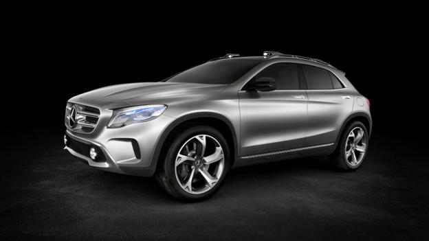 Mercedes-Benz Concept GLA (Credit: Mercedes-Benz USA)