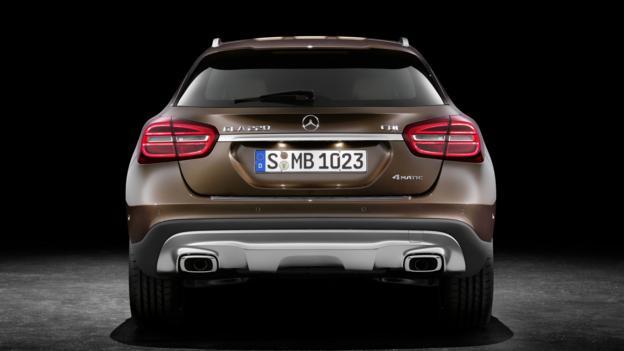 2015 Mercedes-Benz GLA-Class (Credit: Mercedes-Benz USA)