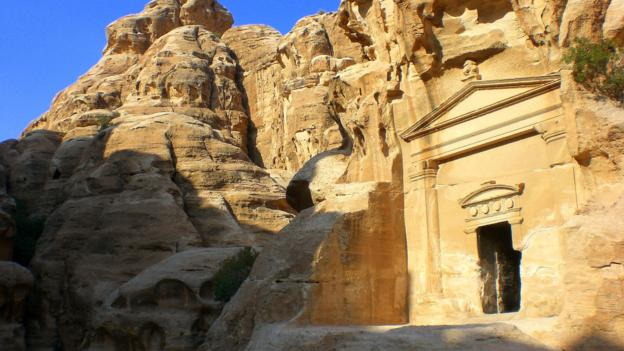 Monuments at Little Petra (Credit: Jessica Lee)