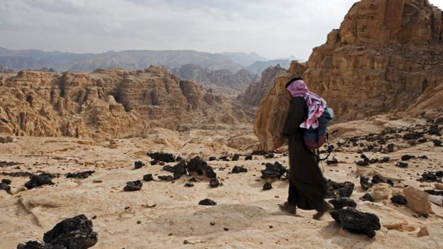 A Bedouin guide retraces ancient camel routes (Credit: Mark Hannaford/Getty)