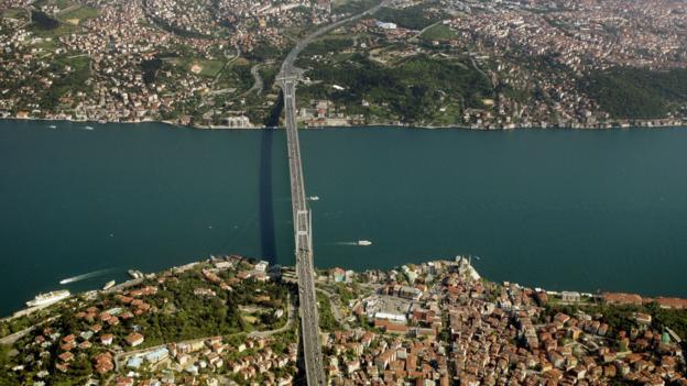 Bosphorus Bridge (Credit: Mustafa Ozer/AFP/Getty Images)