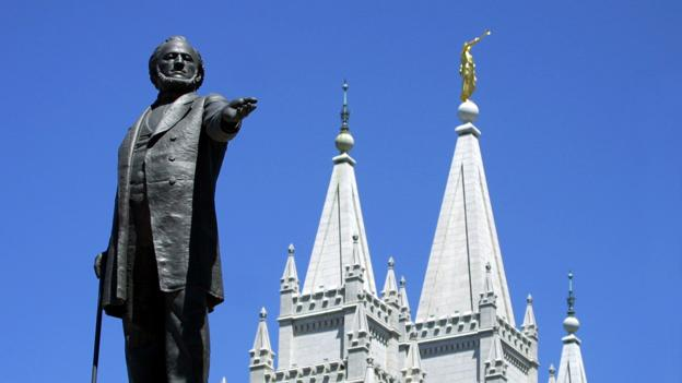Brigham Young, second president of the Church of Jesus Christ of Latter Day Saints (Credit: AFP/Getty Images)
