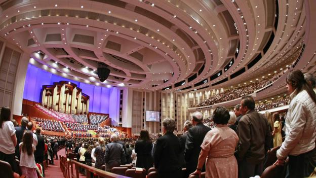 Mormon General Conference (Credit: Getty Images)