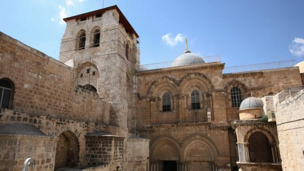 The Church of the Holy Sepulchre (Credit: AFP/Getty Images)