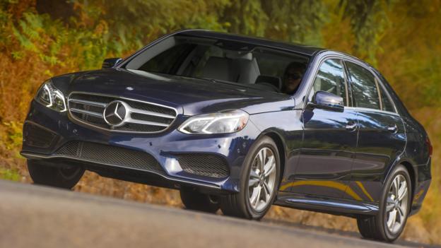 2014 Mercedes-Benz E400 Hybrid (Credit: Mercedes-Benz USA)