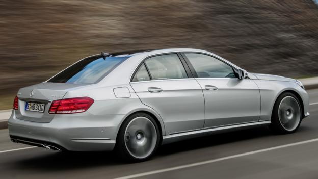 2014 Mercedes-Benz E550 4Matic Sport (Credit: Mercedes-Benz USA)
